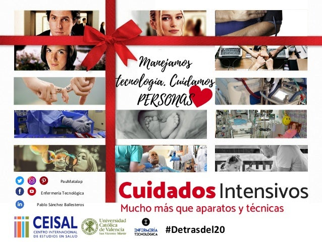 PabloSánchezBallesteros PauMatalap EnfermeríaTecnológica #Detrasdel20