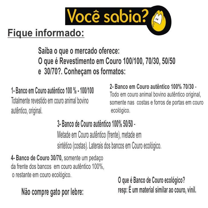Fique informado:              Saiba o que o mercado oferece:              O que é Revestimento em Couro 100/100, 70/30, 50...