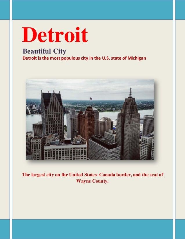 Detroit population 2018