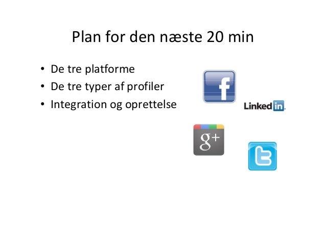 Det sociale værksted - sociale medier for virksomheder Slide 2