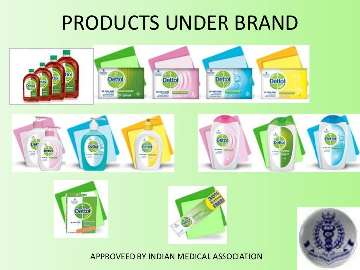 PRODUCTS UNDER BRAND APPROVEED BY INDIAN MEDICAL ASSOCIATION