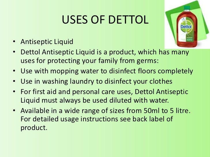 Dettol Brand Management
