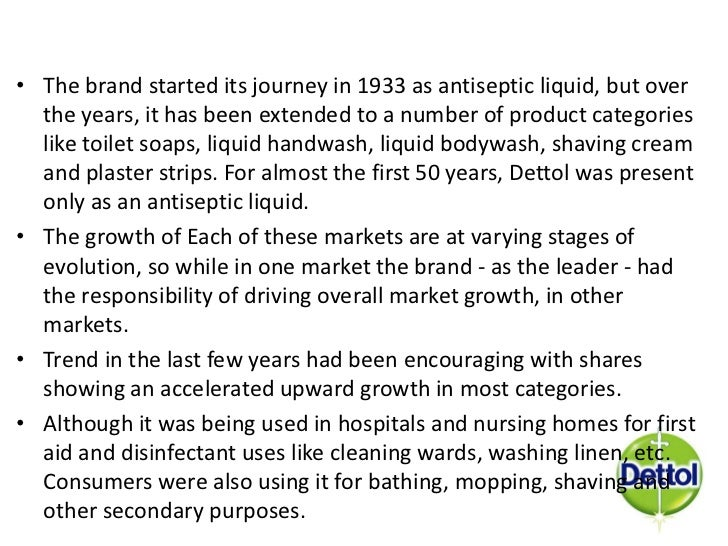 awesome nursing home marketing plan. Competition  42 Antiseptic liquid Market Dettol marketing