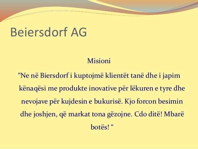 Beiersdorf AG (NIVEA) Detyre Kursi Slide 3