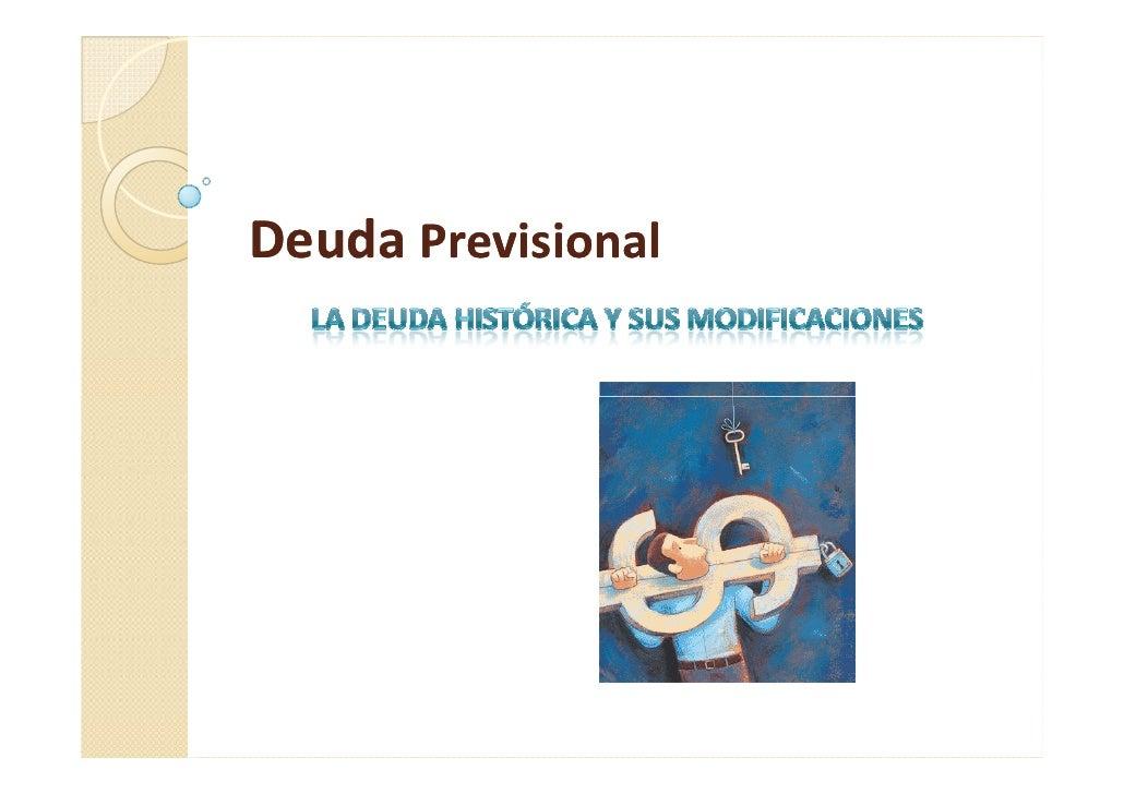 Deuda Previsional