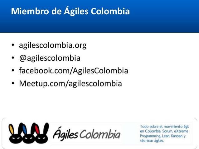 4 Miembro de Ágiles Colombia