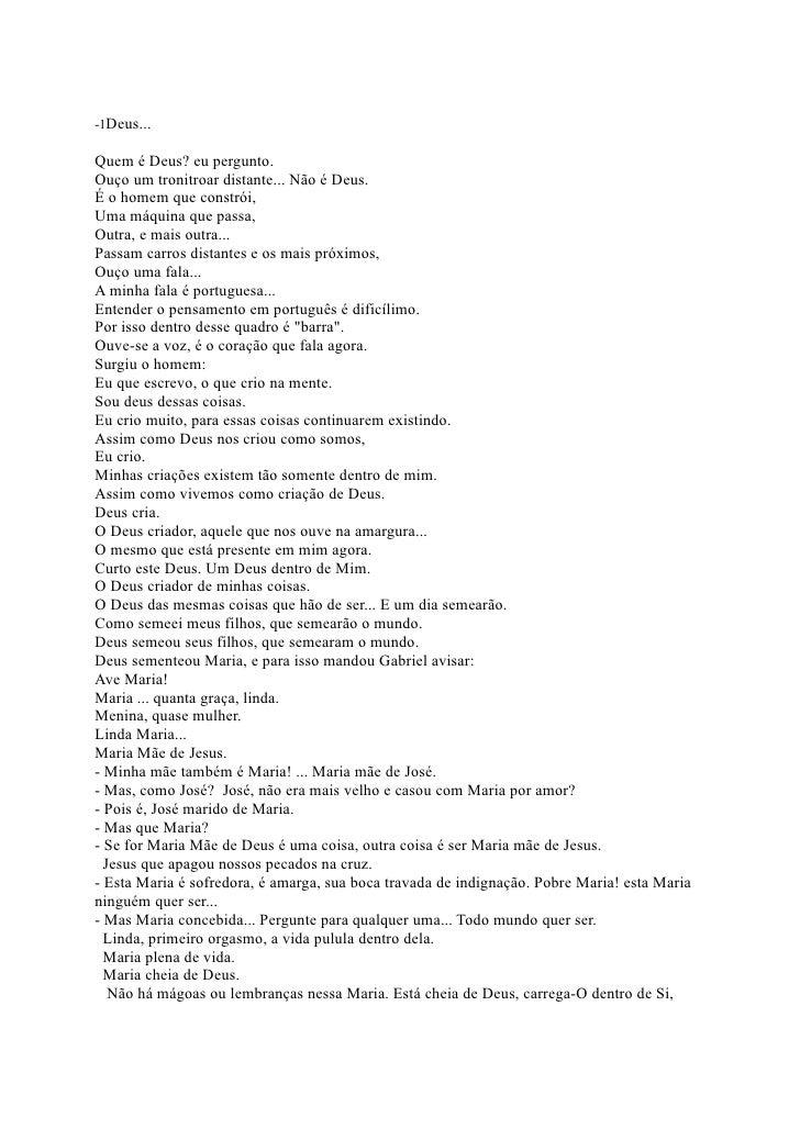 -1Crônica   à Paz                                                   José Cláudio Diniz Couto                              ...