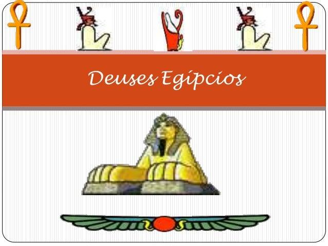 Deuses Egípcios