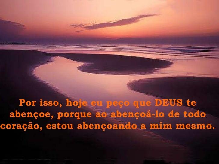 "Deus Te Abençoe: A Importancia Do ""Deus Te Abençoe"""