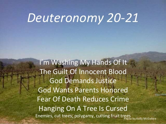 A look at the bibles view point on capital punishment
