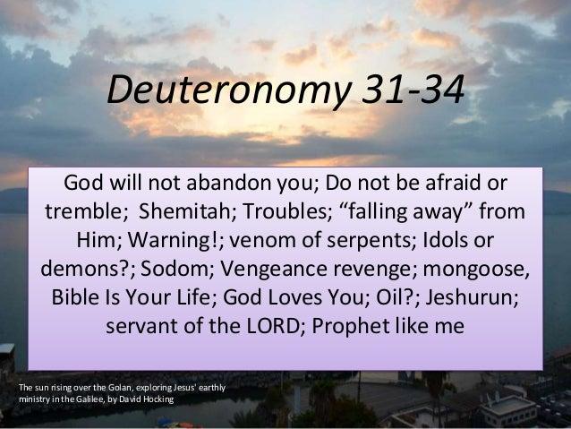 revenge in the bible