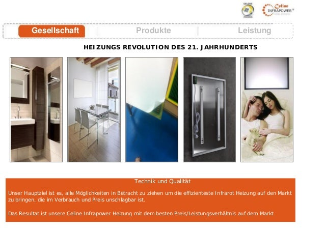 europas beste infrarot heizungen information celine infrapower. Black Bedroom Furniture Sets. Home Design Ideas