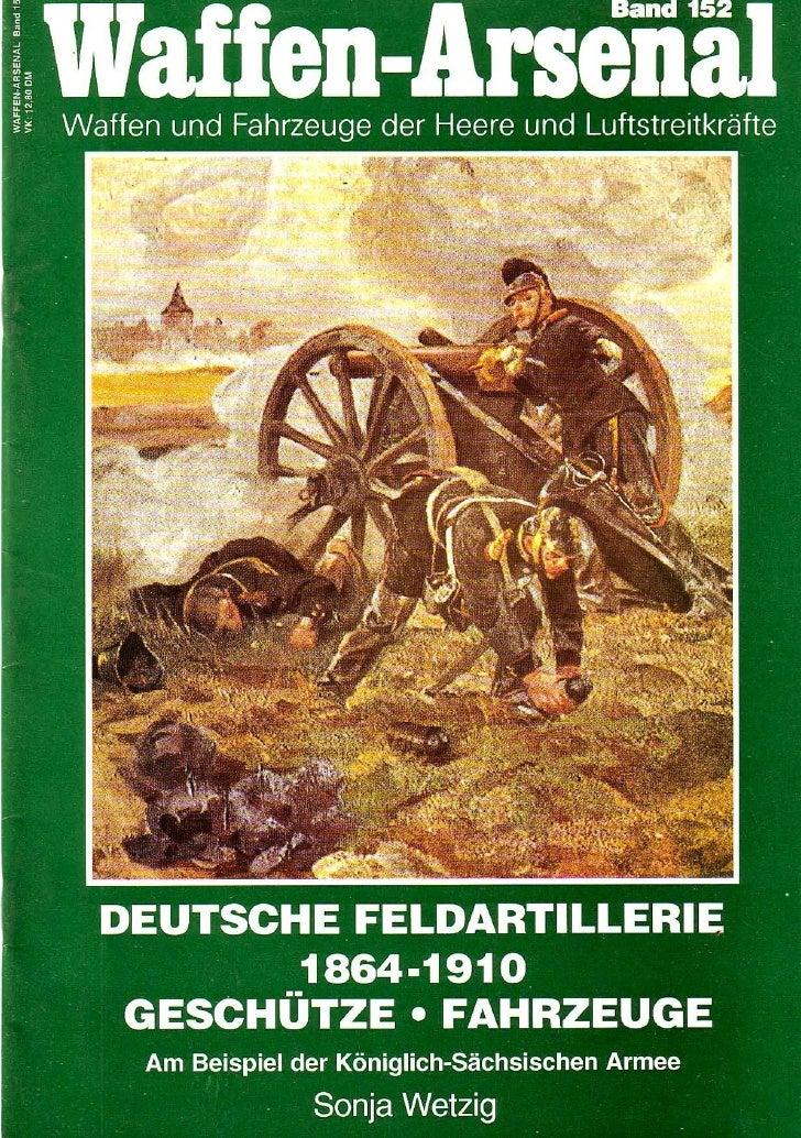 Deutsche  Feldartillerie 1864 1910