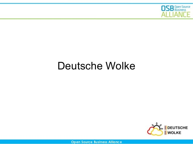 Deutsche Wolke  Open Source Business Alliance