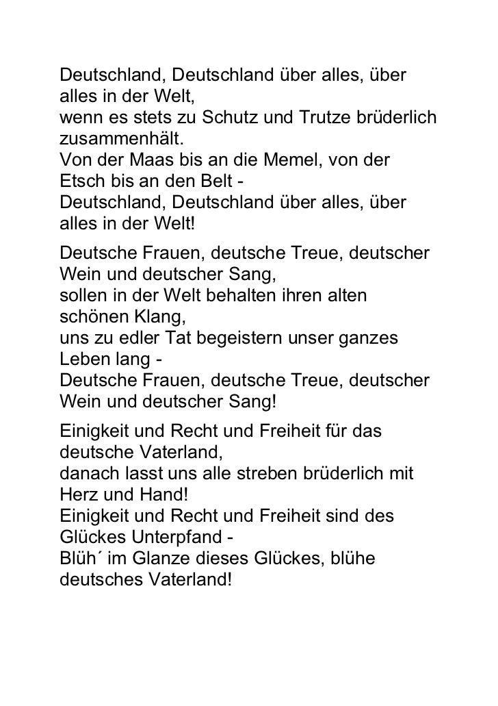 Hymne Deutschland