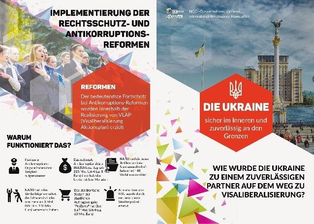 Die Ukraine: sicher im Inneren und zuverlässig an den Grenzen