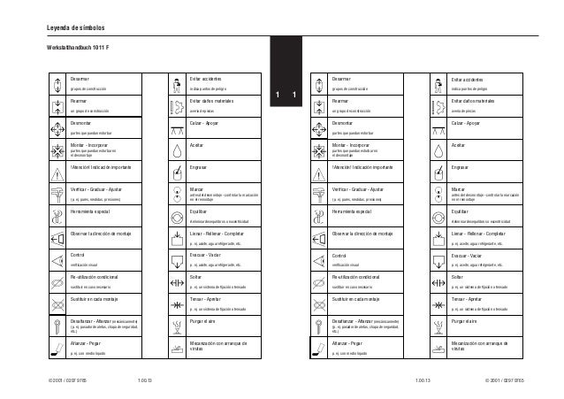 Deutz F4m 1011 F Parts Manual