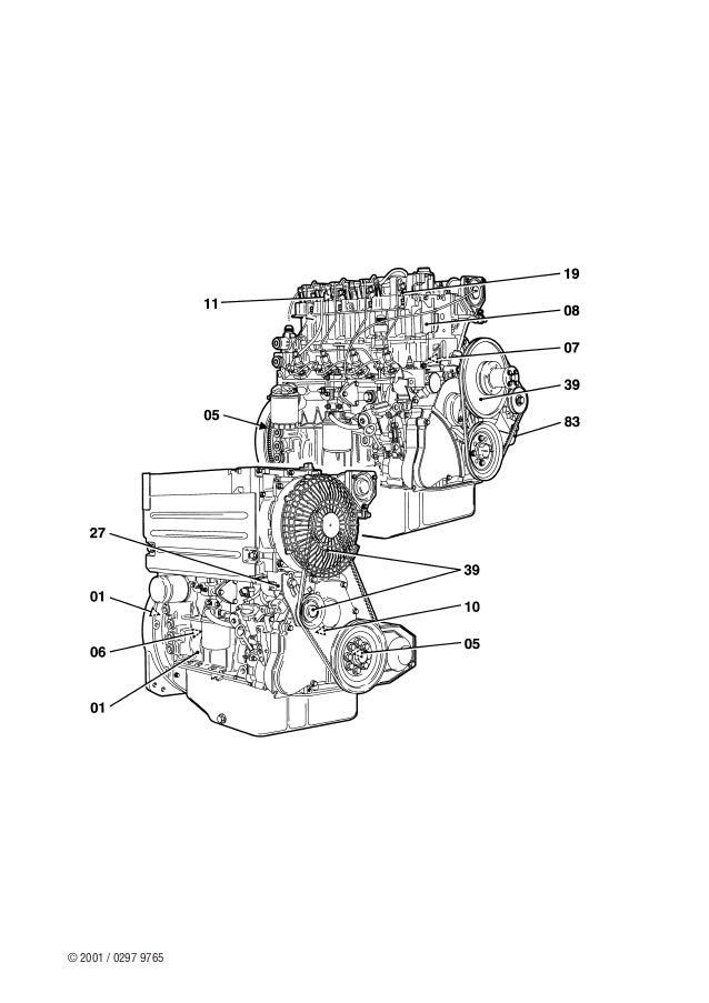 DEUTZ motor 1011 F