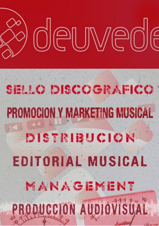 EMPRESA      MODELO DE NEGOCIO  COMPAÑÍA DISCOGRÁFICA                 EDITORIAL MARKETING & PROMOCION               MANAGE...