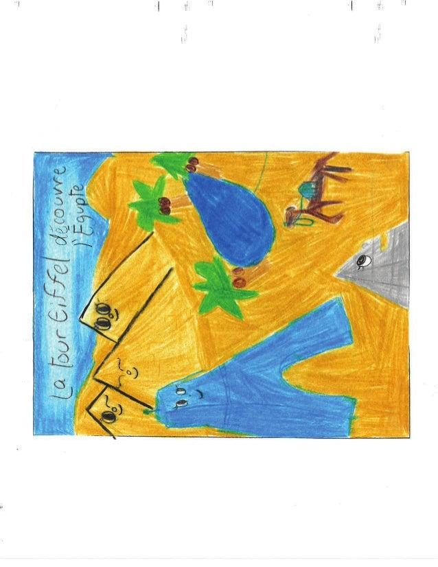 Deuxieme classe gagnante du concours Petits écrivains, petites érivaines Nathan- La Tour Eiffel découvre l'Égypte - École ...