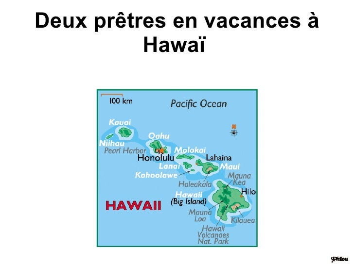 Deux prêtres en vacances à Hawaï