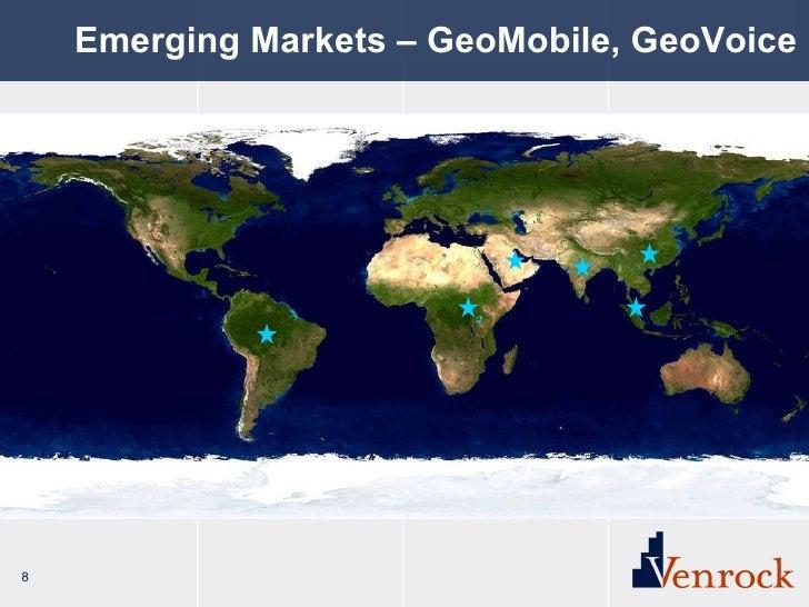 Emerging Markets – GeoMobile, GeoVoice