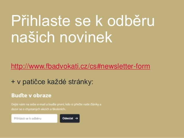 www.fbadvokati.cz Jiří Nezhyba, advokát a partner jiri.nezhyba@fbadvokati.cz