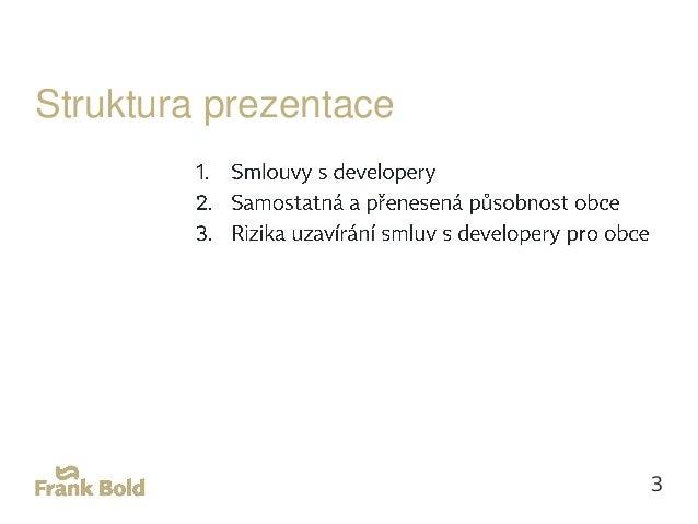 Smlouvy s developery