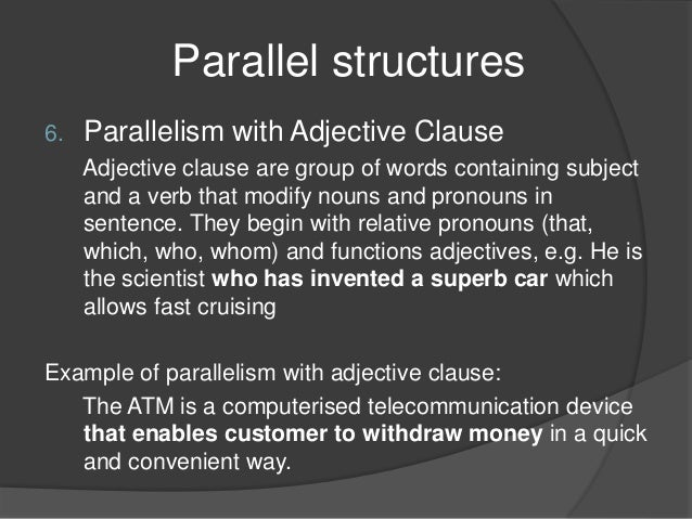 Parallelism Structures