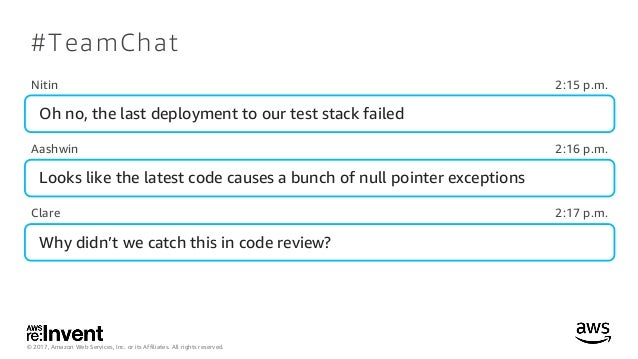 DEV322_Continuous Integration Best Practices for Software Development Teams Slide 3