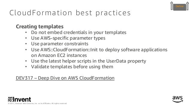 Using AWS Management Tools to Enable Governance, Compliance