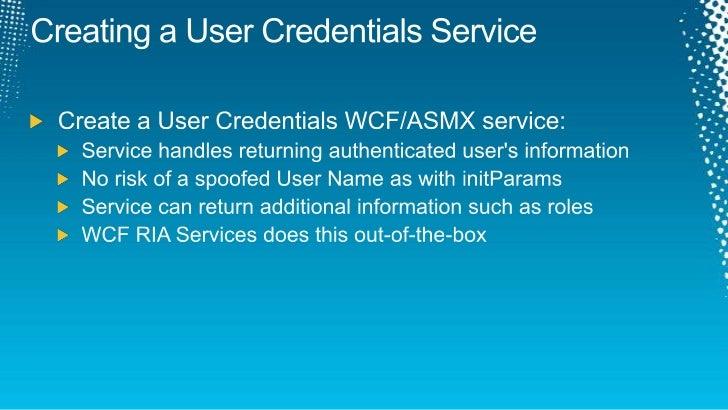 wcf ria services