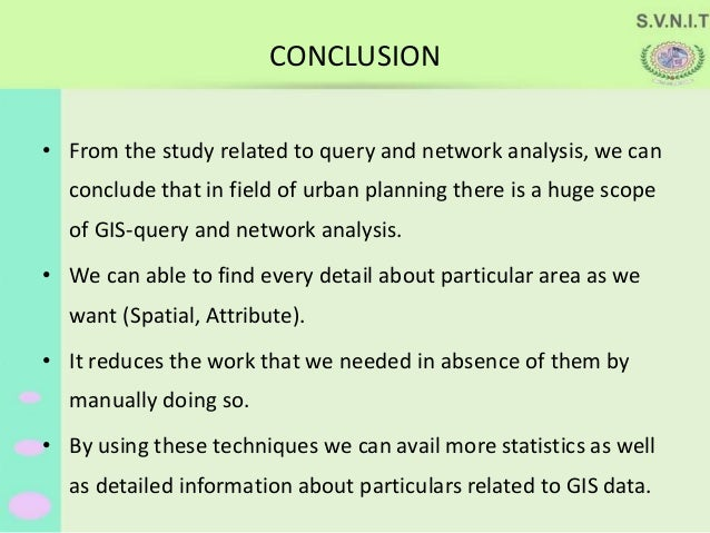 Query And Network Analysis In Gis