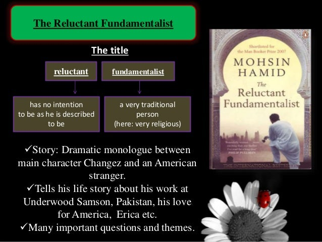 the reluctant fundamentalist notes