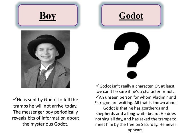 character analysis of vladimir and estragon Abstract samuel beckett's two-act play waiting for godot revolves around the two tramps vladimir and estragon, and their waiting for the mysterious character godot.