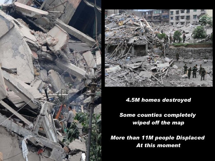 Devastating Sichuan Earthquake Slide 2