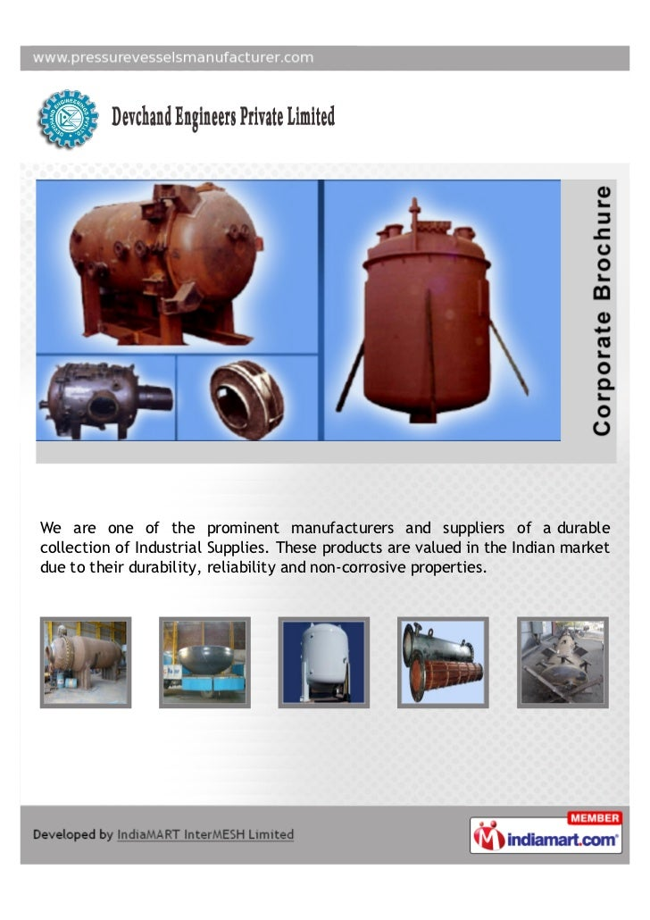 We are one of the prominent manufacturers and suppliers of a durablecollection of Industrial Supplies. These products are ...