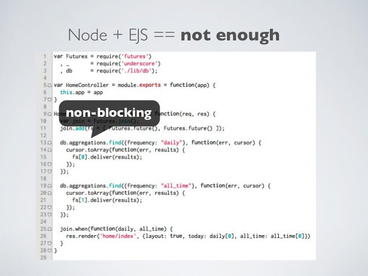 AJS — Asynchronous Templating in Node