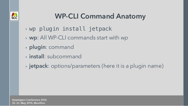 A Better WordPress Workflow with WP-CLI