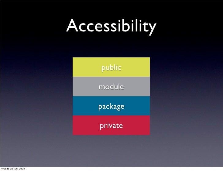 Accessibility                              public                             module                             package  ...