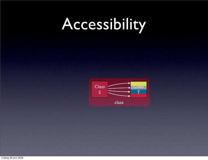 Accessibility                               Class           Class                               S              T          ...