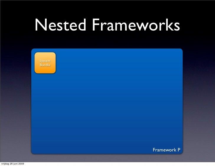 Nested Frameworks                        System                        Bundle                                         Fram...