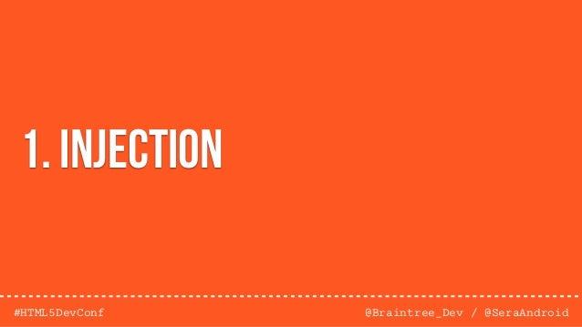 @Braintree_Dev / @SeraAndroid#HTML5DevConf 4. Direct Object References