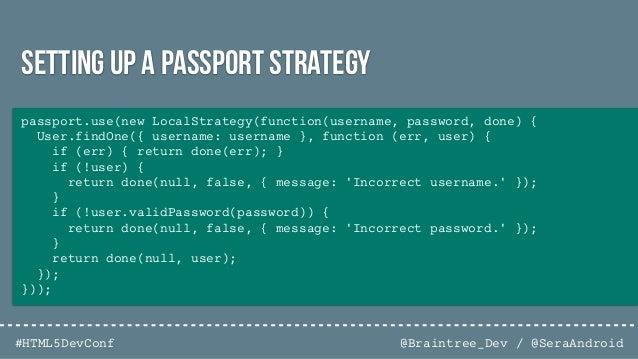 @Braintree_Dev / @SeraAndroid#HTML5DevConf 1. Introduction 2. Well-known security threats 3. Data Encryption 4. Hardening ...