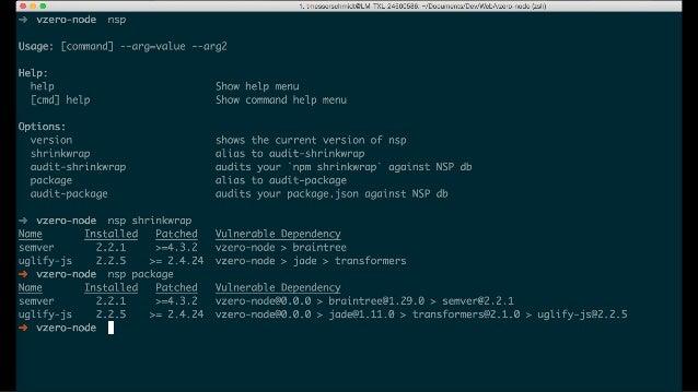 @Braintree_Dev / @SeraAndroid#HTML5DevConf Node Securitynodesecurity.io/resources