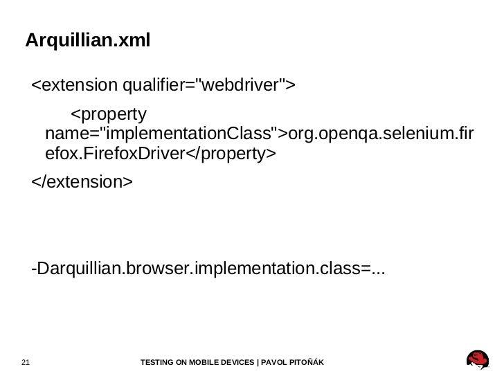 Running Unit Tests <ul>mvn clean package testng.xml </ul>