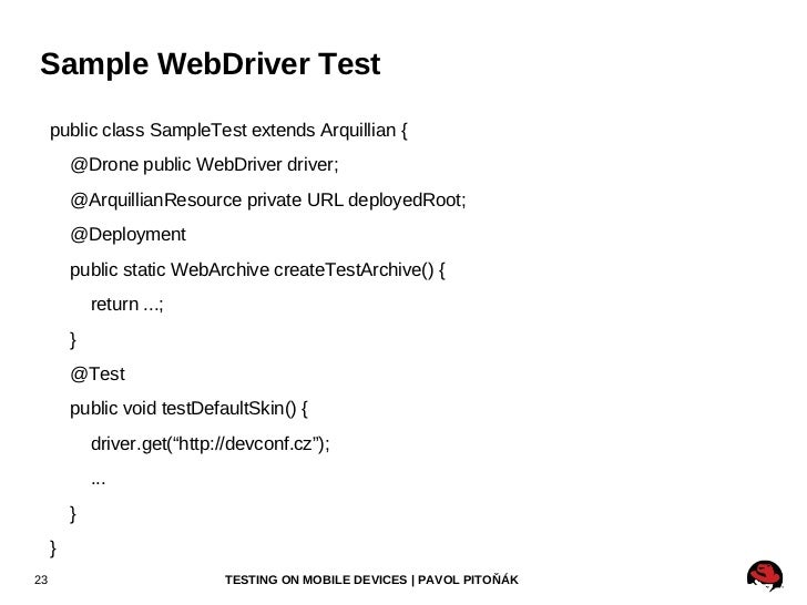 Running All Tests <ul>mvn clean package -P jbossas-managed-71,all-tests testng-all.xml </ul>