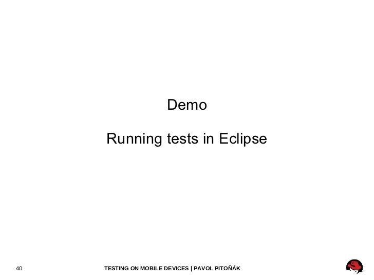 Deployment <ul><li>@Deployment(testable = false)