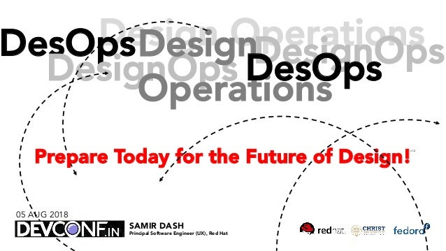 Design OperationsDesOps DesignOps Design Operations DesignOpsDesOps Prepare Today for the Future of Design! SAMIR DASH Pri...