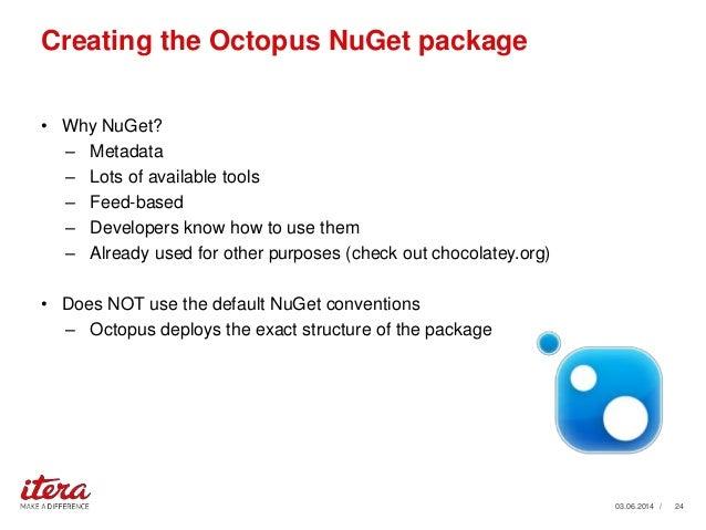 Octopus Xml Transform Automated release mana...